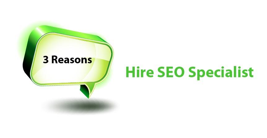 3  Reason Hire Seo specialist