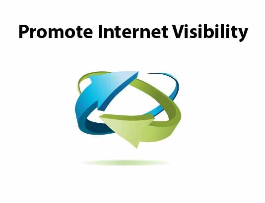 promote internet visibility