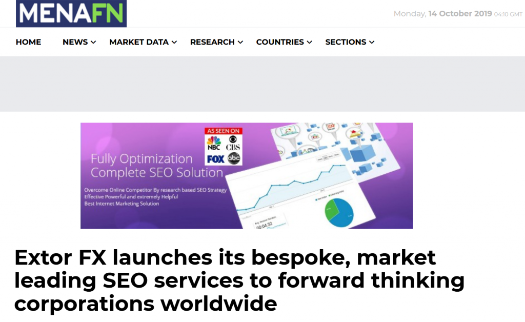 MENAFN Featured Extor Press release